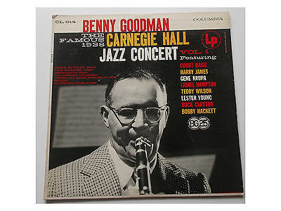 Benny Goodman ‎- The Famous 1938 Carnegie Hall Jazz Concert - Vol. 1 - LP