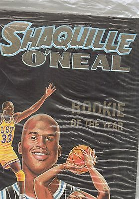 1993 Stellar Comic Book Shaquille O'neal #1 Gold Issue/michael On Back