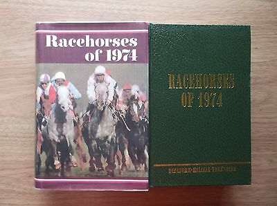 "Timeform ""racehorses Of 1974"" Mint In A Copy Dust Jacket"