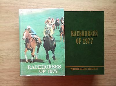 "Timeform ""racehorses Of 1977"" Mint In A Copy Dust Jacket"