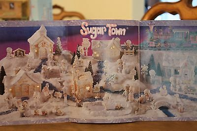 """Precious Moments """"Sugar Town"""" by Enesco 1992-1997 Limited Edition Complete Sets"""