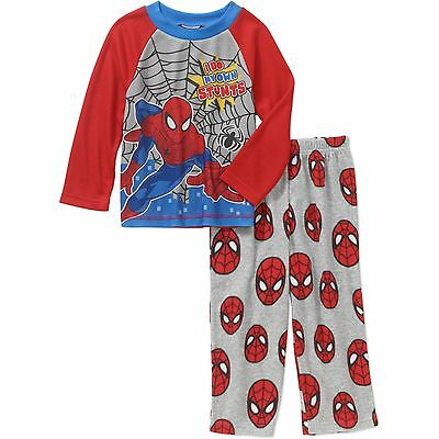 Baby Boys/Toddlers Marvel Spider-Man 2pc Pajama Set New with Tags Size 2T  Kids