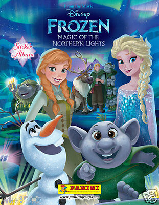 Disney Frozen Magic Of The Northern Lights Sticker Album Stickers Complete All