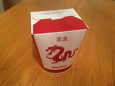 16oz Disposable Chinese Noodle Boxes