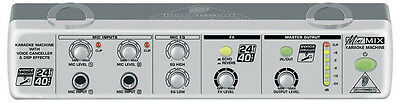 Behringer MINIMIX MIX800 Ultra-Compact Karaoke Processor with Voice Canceller