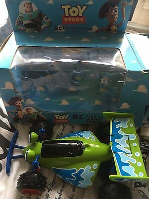 Toy Story Thinkway Free Wheel RC Boxed With Instructions Really Good Condition.