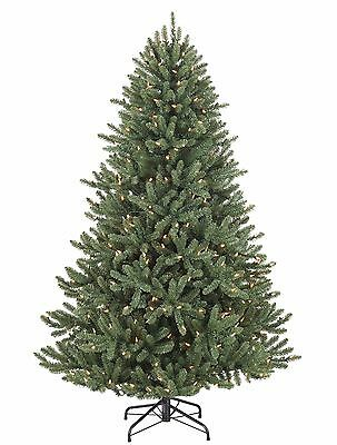 """8""""(240Cm) Balsam Hill Canadian Blue Green Spruce With Multicolour Led Lights"""