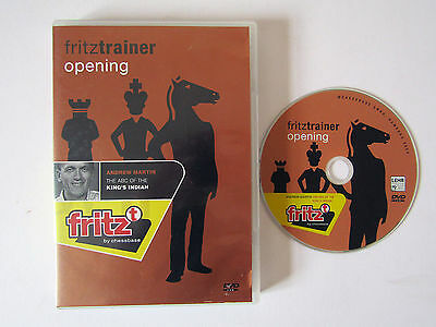 Fritztrainer Opening, Martin The ABC Of The King's Indian, PC-DVD-ROM, Chessbase