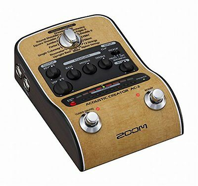 ZOOM AC-2 Acoustic Creator for acoustic guitar preamp Japan #With Tracking F/S