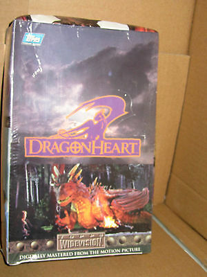 Topps DRAGONHEART factory sealed box of trading cards 1996 - RARE
