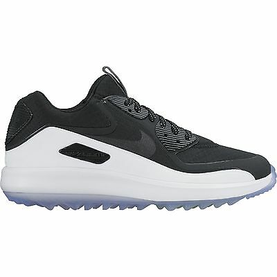 2016 Nike AIR ZOOM 90 IT Golf Shoes Medium -Black/White/Volt- 844569-001