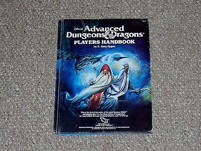 1980 TSR Advanced Dungeons & Dragons Player's Handbook 6th Printing