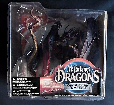 McFarlane DRAGONS QUEST FOR THE LOST KING DRAGON COLLECTOR FIGURE