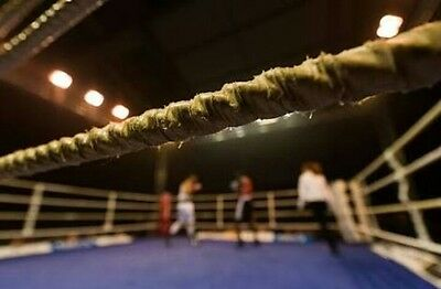 boxing ring ropes 4x56ft All size ropes available 48 56 64 72 80 ft & canvas