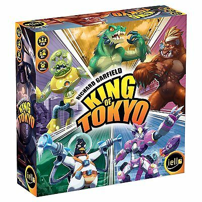 KING OF TOKYO - New Edition - Board Game - ENGLISH - OVP+in Folie/sealed