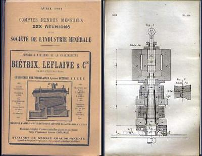 Bulletin Societe Industrie Minerale -  Avril 1901