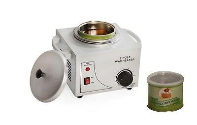 Single Pot Professional Depilatory: Wax Heater Warmer Machine WITH Wax Included