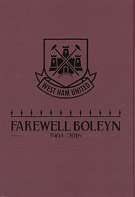 WEST HAM UNITED v MANCHESTER UNITED 2015/16 LAST GAME AT BOLEYN