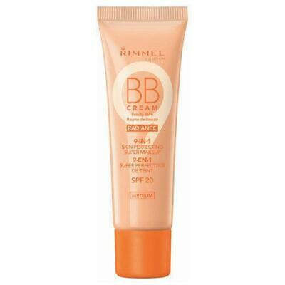Rimmel BB Cream Radiance 9 in 1 Skin Perfecting Beauty Balm - Medium - 30ml