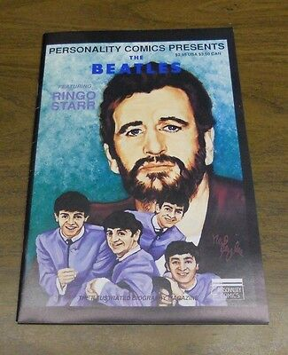 Personality Comics Presents Beatles #4: Ringo Starr (1992) Fine / Very Fine