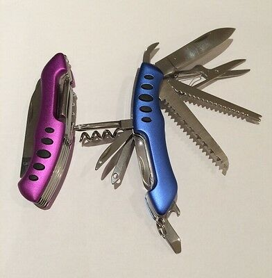 11Function Multi Tools Army Knife Handy Pocket Camping Survival Stainless Fast