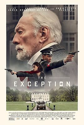 The Exception Movie Poster 18'' X 28''