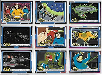 Star Trek COMPLETE ANIMATED ADVENTURES 200 Card BASE SET + P2 Promo + Wrap