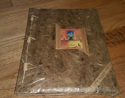 souvenir photo album Costa Rica NEW ecological paper string wooden beads sealed