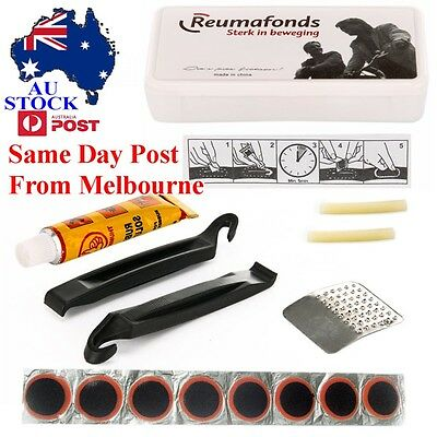 Bike Tire Tyre Puncture Repair Tool Kits Cycling Bicycle Rubber Patch TBPAT 0301