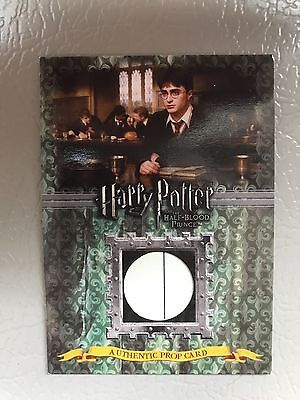 Harry Potter Trading Card Advanced Potion Making Book Half Blood Prince Prop