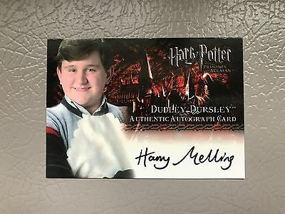 Harry Potter Trading Card Harry Melling as Dudley Dursley Prisoner of Azkaban