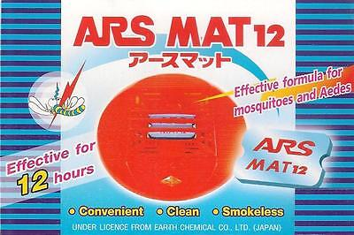 100 pc ARS MAT12 Strong mosquito repellent tablets mat Universal fit ThermaCell