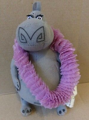 "Madagascar Gloria 9"" Stuffed Animal Plush NANCO Hippopotamus Hippo NEW WITH TAGS"