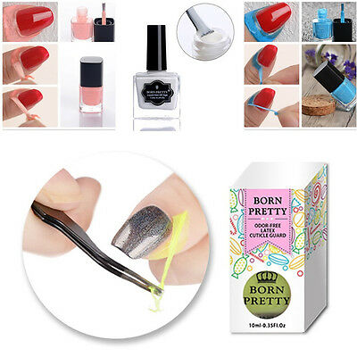 Nail Peel Off Liquid Tape Base Coat Latex Polish Remover  BORN PRETTY