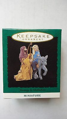 Hallmark 1994 Journey Into Bethlehem Miniature Ornament