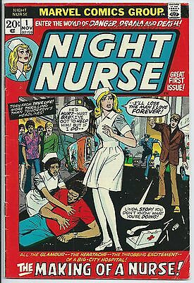 **night Nurse #1**(Nov 1972, Marvel)**1St Appearance**curtis Circulation Variant