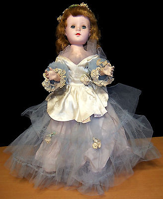 """Gorgeous 1950s American Character 18"""" Sweet Sue Walker Doll - 100% All Original"""