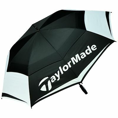 TaylorMade Double Canopy 64inch Umbrella 2017