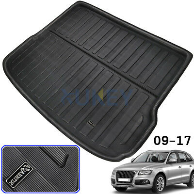 Tailored Boot Liner Rear Cargo Mat Trunk Floor Tray For AUDI Q5 SQ5 8R 2008-2017