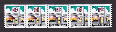 PNC5 25c Diner WA S11111 US 3208 Small Perf Holes  MNH  F-VF