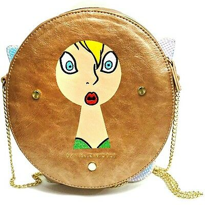 New Disney Parks Store Danielle Nicole Tinkerbell Crossbody Bag, Purse SOLD OUT!