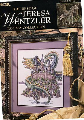 USED (GD) The Best of Teresa Wentzler Fantasy Collection Vol. 1 Leisure Arts