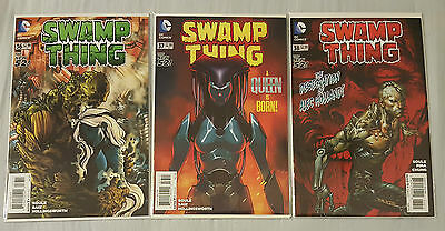 Swamp Thing #36/37/38 DC Comics NM Uncertified