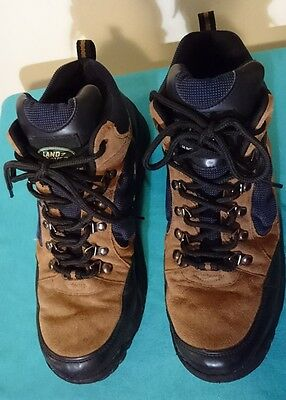 Dakota Land Rover Mens Hiking Boots Leather  11