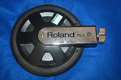 Roland Electronic Drum Kit Spares - Model PD-8 Drum Pad Dual Trigger