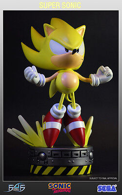 SUPER SONIC - First 4 Figures f4f Statue The Hedgehog Collectible reg. SPECIAL