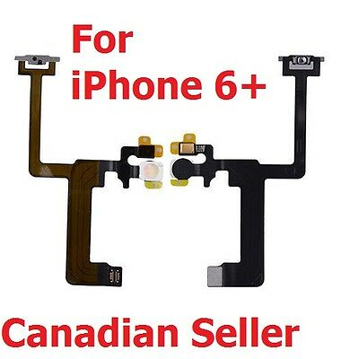 Power On off Control Button Switch Connector Flex Cable for iPhone 6 Plus 6+ 5.5