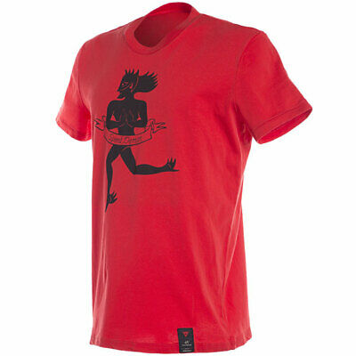 Dainese Motorbike Motorcycle Essence T-Shirt - Red
