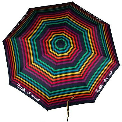 Parapluie automatique LITTLE MARCEL rayé multicolor NEUF