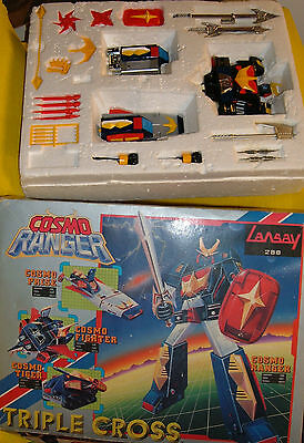 BALDIOS NOMURA METAL Dx FIGURE ROBOT JAPAN EXCLUSIVE COSMO RANGER FRANCE BOX '80